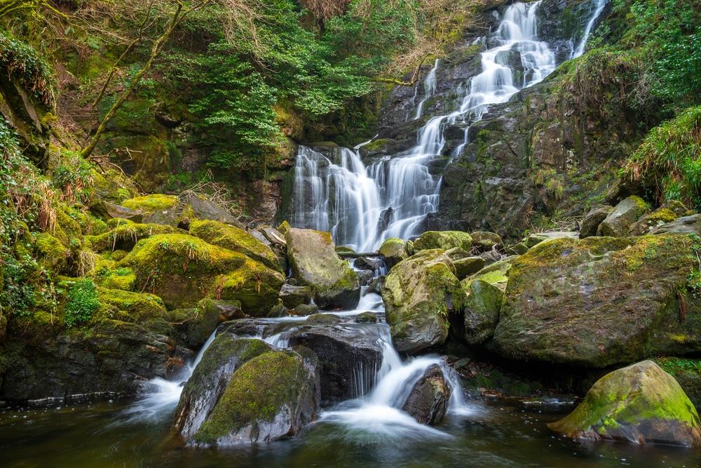 Resultado de imagen de cascadas de Glenmacnessh irlanda