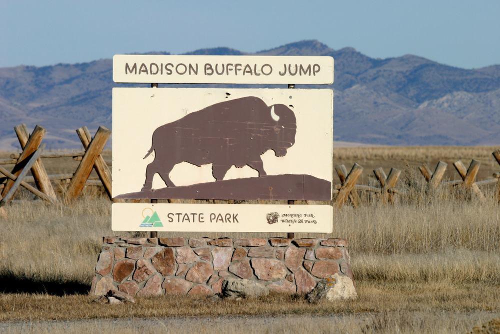 Parque estatal Madison Buffalo Jump, Bozeman