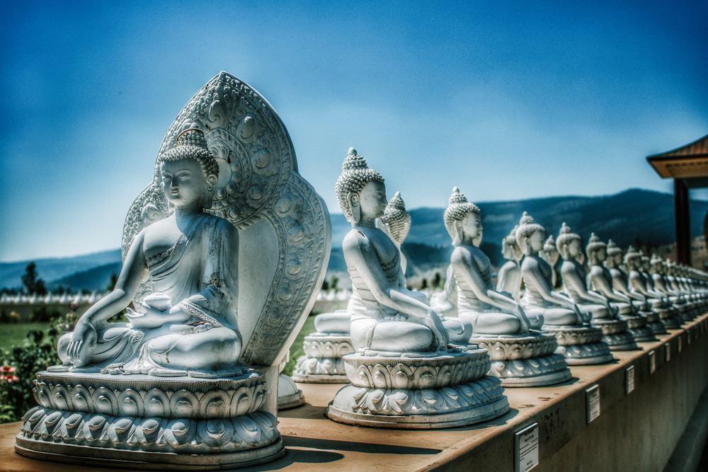 Jardín de los Mil Budas, Arlee