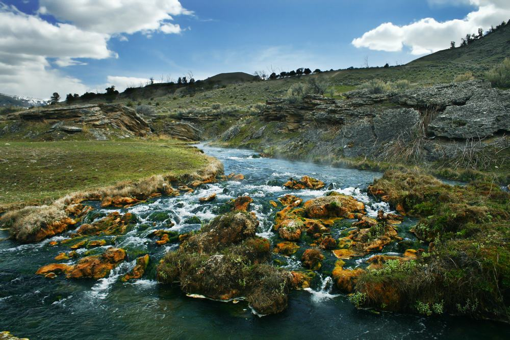 Boiling River, Parque Nacional de Yellowstone