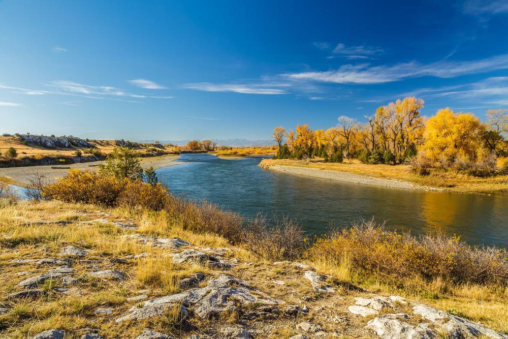 Parque estatal Missouri Headwaters, Three Forks