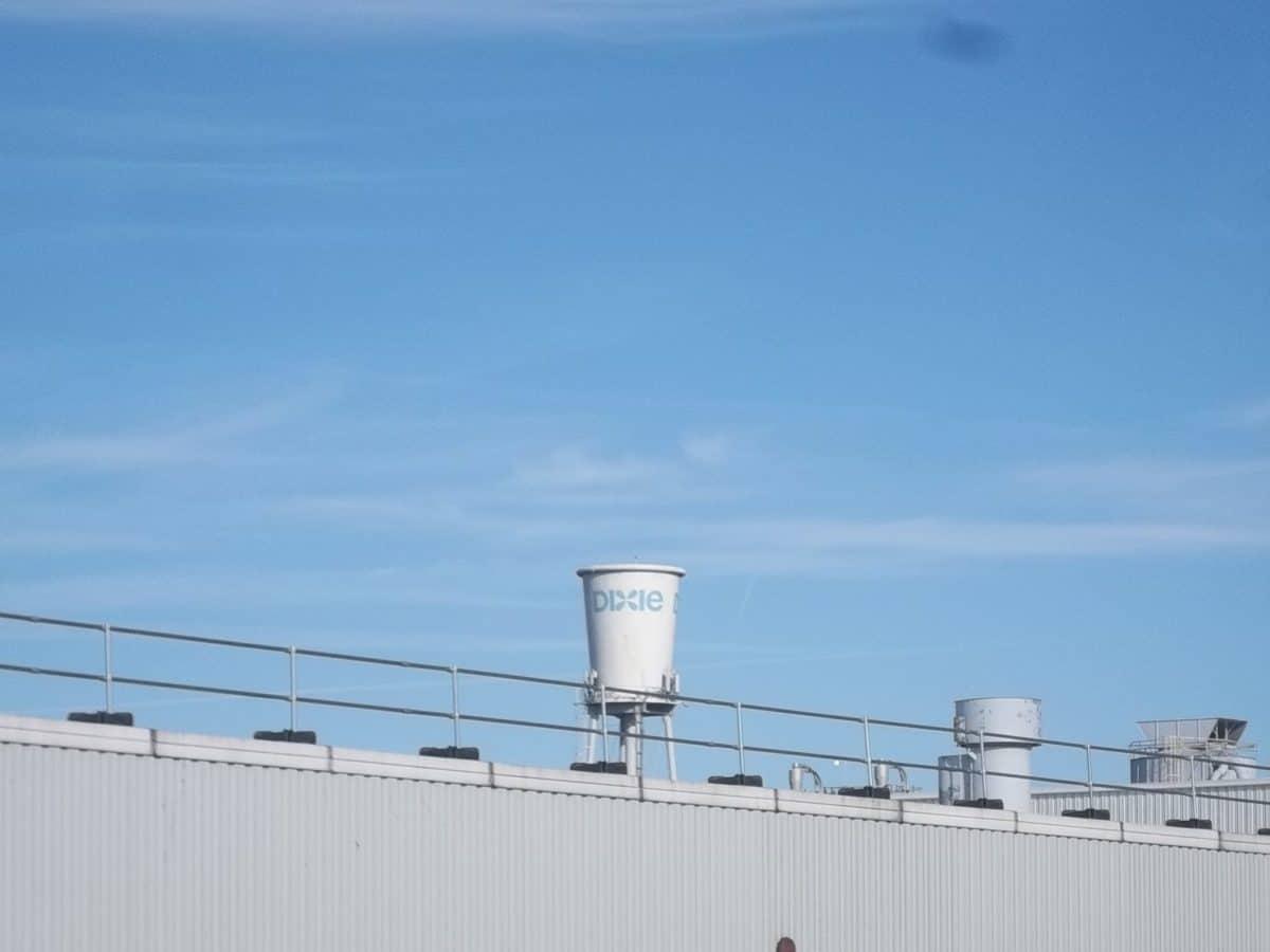 Torre de agua Dixie Cup, Lexington