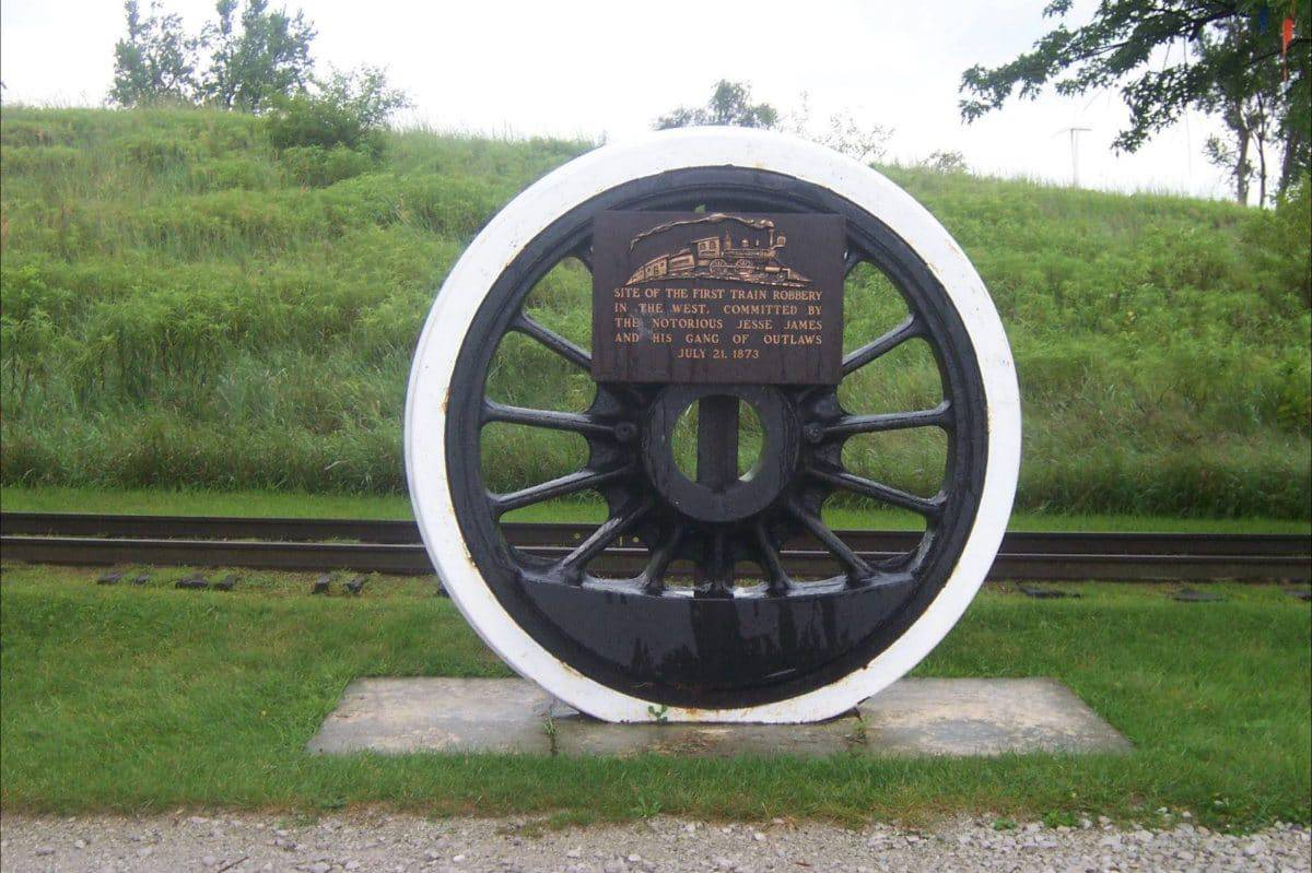 Sitio del primer robo de tren en Occidente, Adair