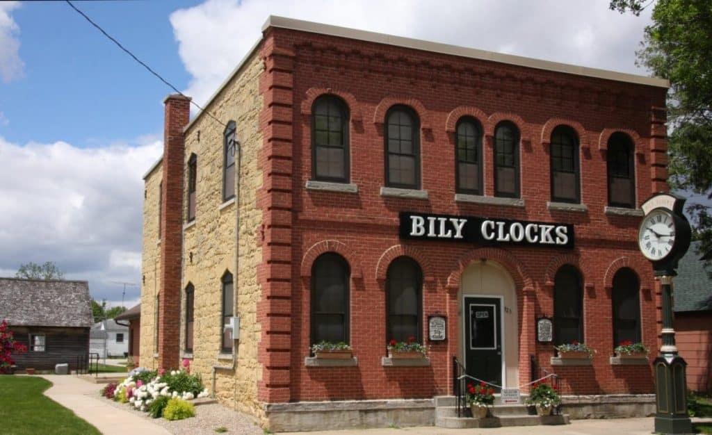 Museo de relojes Bily, Spillville