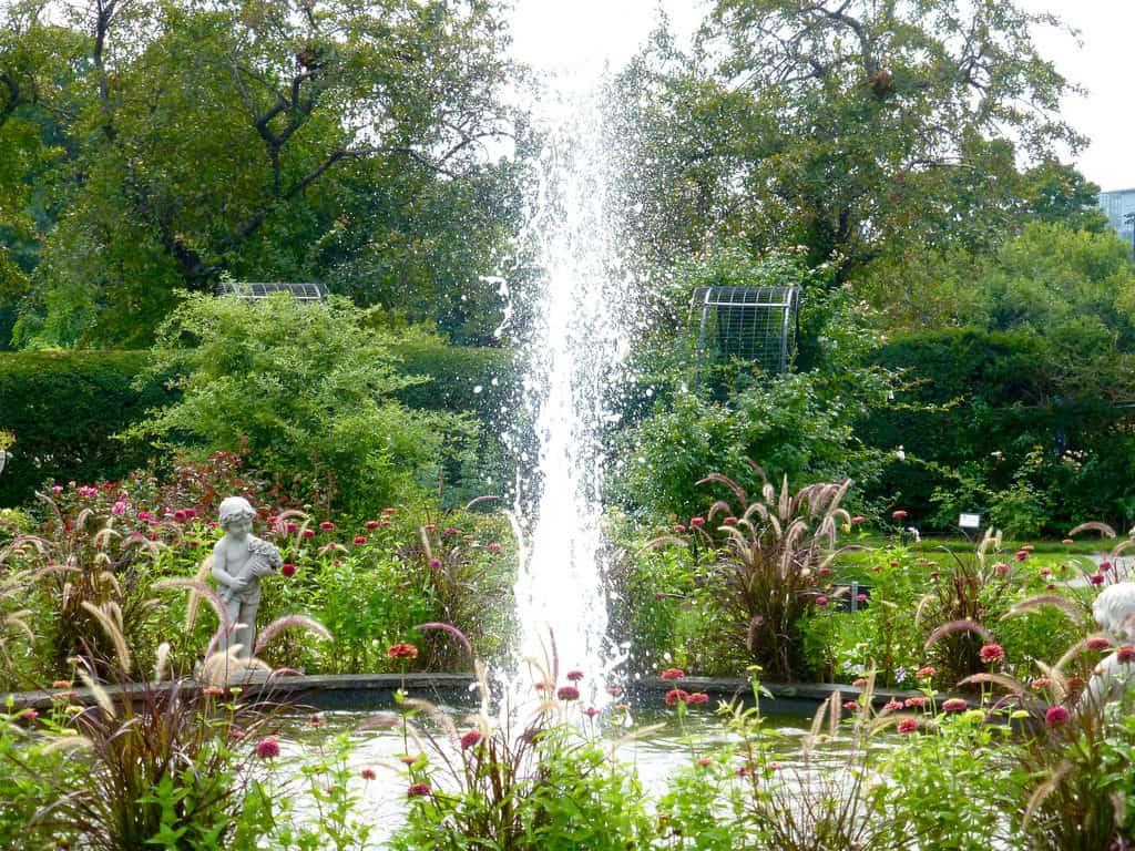 Jardín de rosas Kelleher, Boston