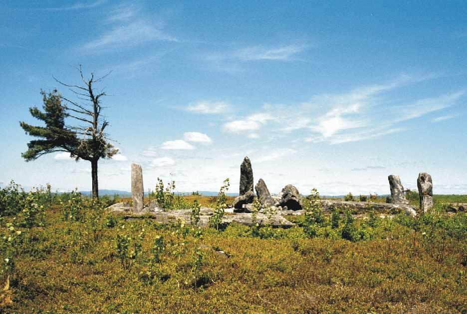 Círculo de piedra de Burnt Hill, Heath