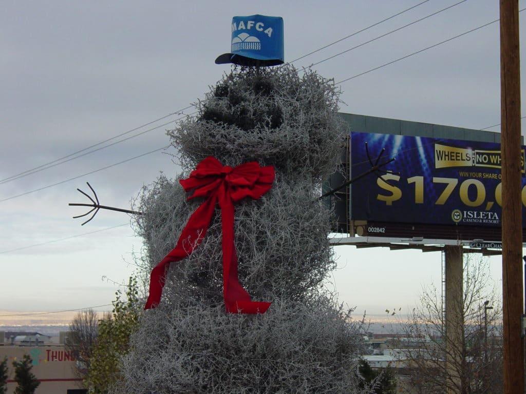 Muñeco de nieve Tumbleweed, Albuquerque