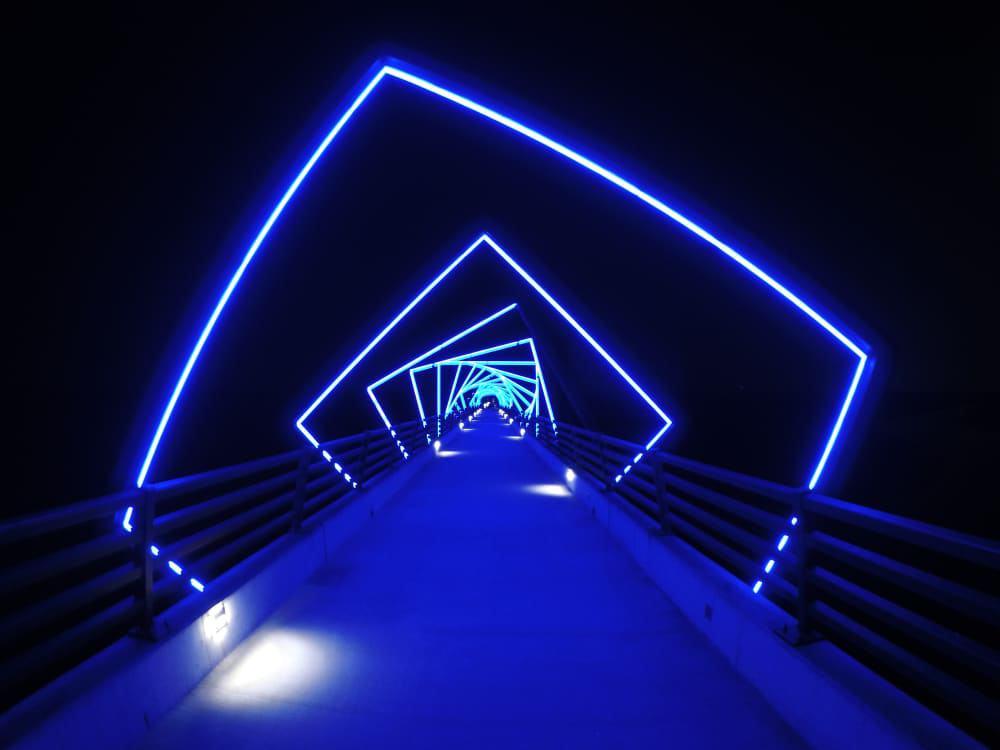 Puente del Sendero del Caballete Alto, Madrid