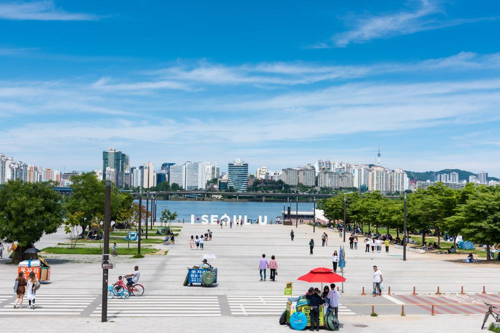 Parque de colores de Seúl (Parque Yeouido Hangang)