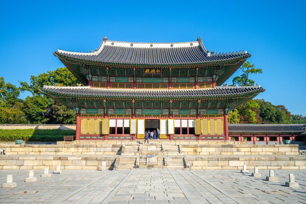 Injeongjeon, Palacio Changdeokgung