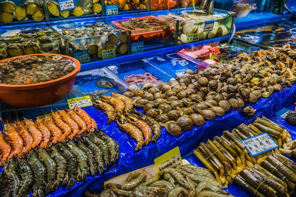 Mercado mayorista pesquero de Noryangjin