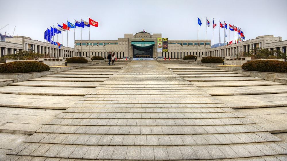 Monumento a los caídos en la guerra de Corea, Seúl