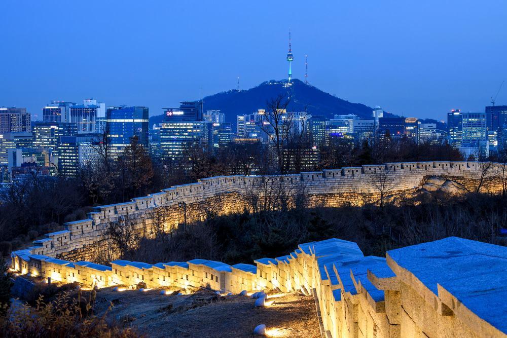 Muralla de la ciudad de Seúl