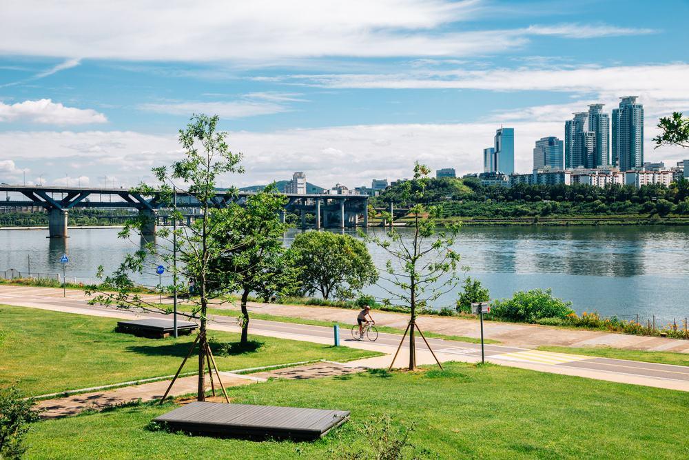 Parque Ttukseom Hangang