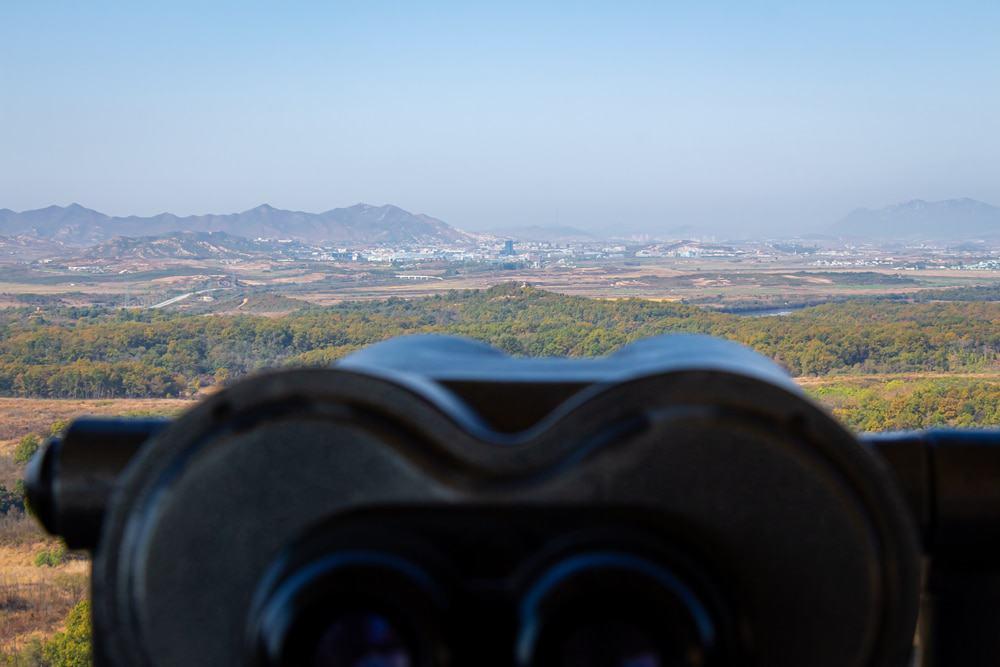 Una vista de Corea del Norte