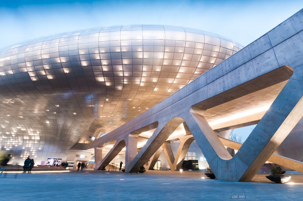 Plaza de diseño de Dongdaemun